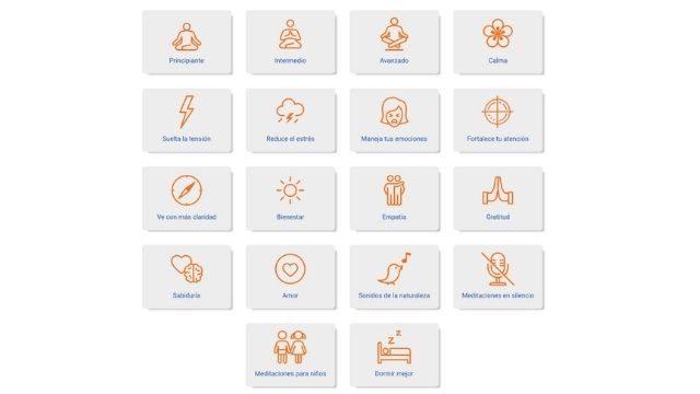 Cientos de meditaciones guiadas